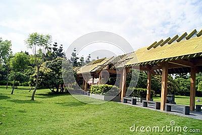 The park leisure pavilion