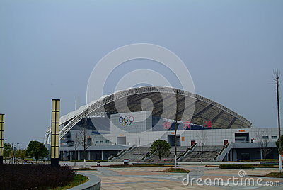 Park Olympique Editorial Stock Image