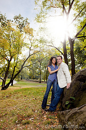 Park Portrait Engagement