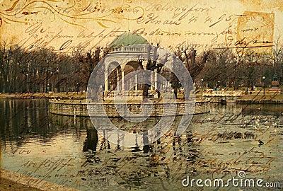 Park postcard