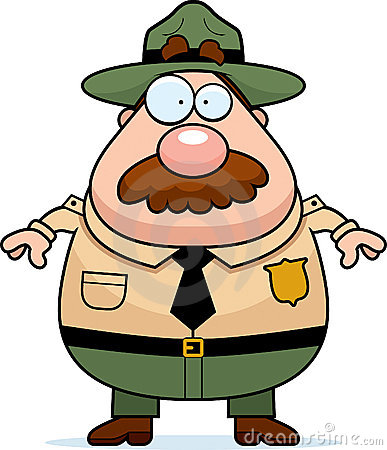 Park Ranger Cartoon