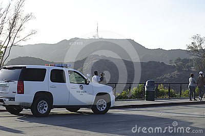 Park Ranger Vehicle Editorial Stock Image