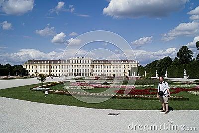 Park in Schonbrunn Palace