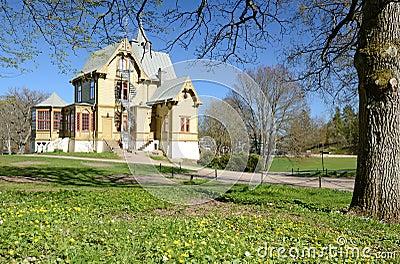 Park small castle
