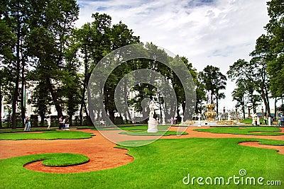 Park in St. Petersburg