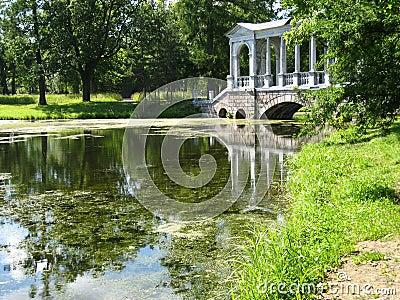 Park in Tsarskoye selo
