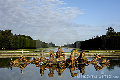 Park of Versailles palace