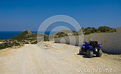 Parked ATV