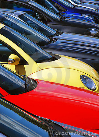 Free Parked Cars Stock Image - 6021861