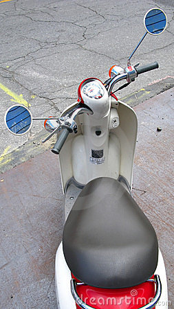 Parked Scooter