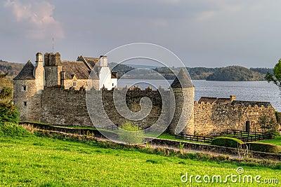 Parkes Castle in County Leitrim