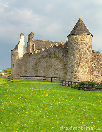 Parkes Castle In Ireland Royalty Free Stock Photo - Image: 23488485