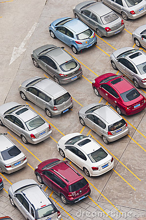 Parking Editorial Stock Image