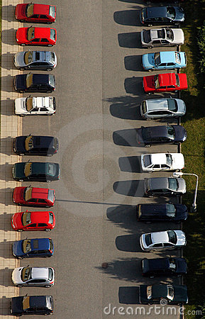 Free Parking Royalty Free Stock Photography - 940587