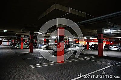 Parking garage Editorial Stock Photo