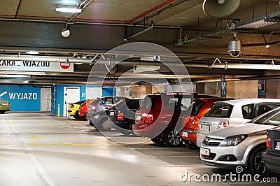 Parking garage Editorial Image