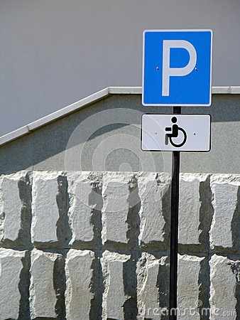 Parking for handicapped drivers
