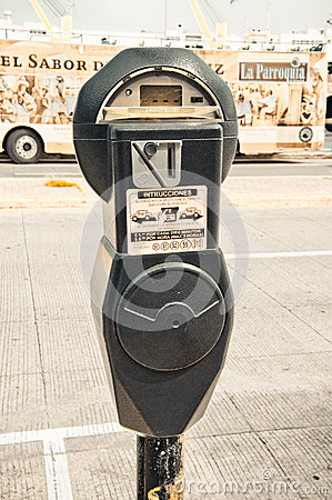 Parking Meter Editorial Photography
