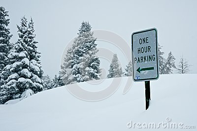 Parking in a Snow Storm