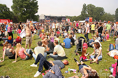 Parkpop Editorial Stock Image