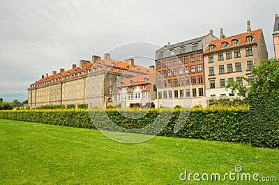 Parks of Copenhagen. Denmark