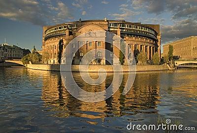 Parlament building, Stockholm