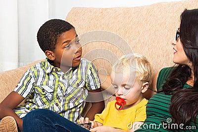 Parlare dei bambini