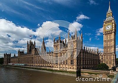 Parliament Building and Big Ben London England