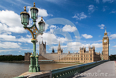 Parliament Building and Big Ben London England