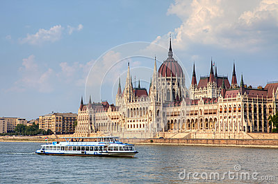 Parliament Building In Budapest, Hungary. Royalty Free Stock Photography - Image: 26106527