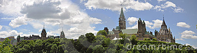 Parliament Buildings and Library panorama, Ottawa