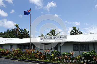 Parliament of the Cook Islands in Rarotonga Cook Islands Editorial Stock Image