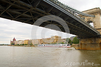 Parliament  Danube River Budapest