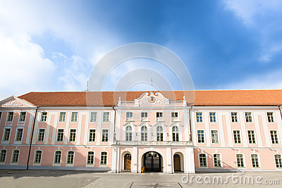 Parliament of Estonia in Tallin