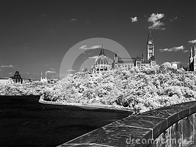Parliament Hil on Infrared Film