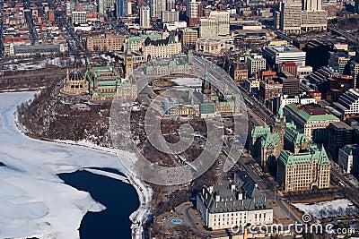 Parliament Hill, Aerial Photo