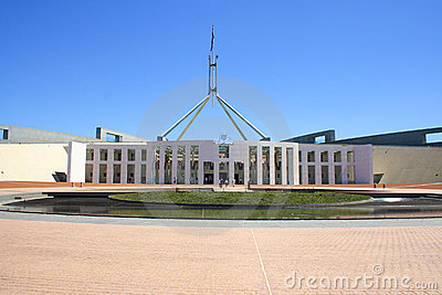 Parliament house Editorial Stock Photo