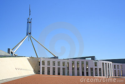 Parliament house Editorial Stock Image