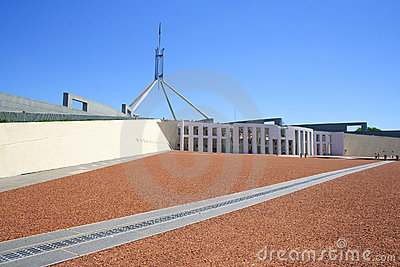 Parliament house Editorial Photo