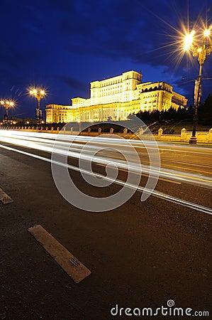The Parliament house, bucharest-romania