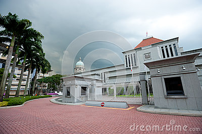 Parliament House and the Old Supreme Court