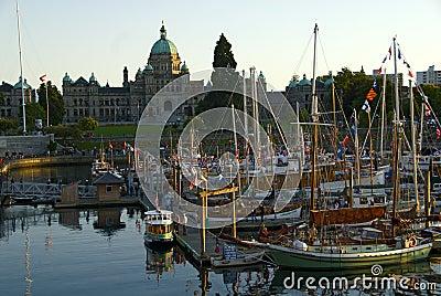 Parliament House, Victoria island, BC, Canada