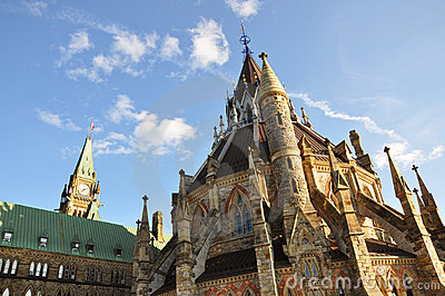 Parliament Library and Peace Tower, Ottawa