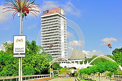 Parliament of Malaysia Editorial Photo