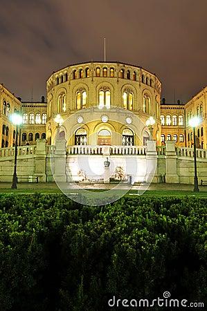 Parliament in Oslo