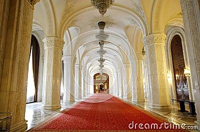 Parliament Palace Interior