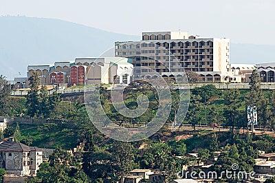 Parliament of Rwanda Editorial Stock Photo