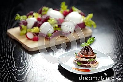 Parmiggiana итальянки баклажана