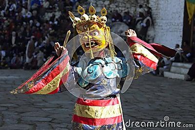 Paro Tsechu in The Kingdom of Bhutan Editorial Stock Image