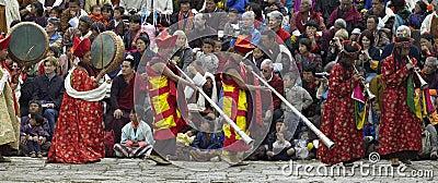 Paro Tsechu - Kingdom of Bhutan Editorial Image